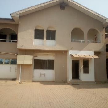 5 Bedroom Office Space Semi Detached Duplex with 2 Rooms Bq, Utako, Abuja, Semi-detached Duplex for Rent