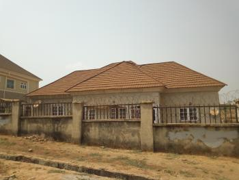 Distress Sale: a Corner Piece Fully Detached 3 Bedroom Bungalow with a Room Bq in Lokogoma, After Sunny Vale Estate, Lokogoma District, Abuja, Detached Bungalow for Sale