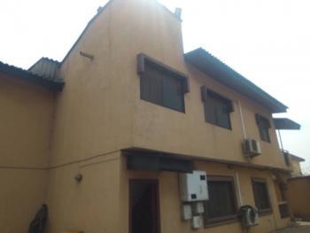 3 Bedroom Duplex, Akinwale Street, Off Thomas Salako, Ogba, Ikeja, Lagos, Detached Duplex for Rent