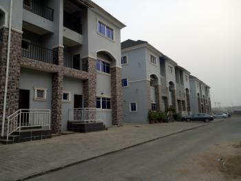 Brand New and Tastefully Finished 3 Bedroom Terraced House with a Room Bq, By The Turkish International Hospital, Karmo, Abuja, Terraced Duplex for Sale