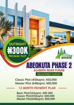 Plots of Land, Alabata, Near Funaab, Odeda, Ogun, Residential Land for Sale