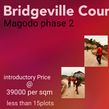 Bridgeville Courts, Off Cmd Roa,. Off  Emmanuel Keshi, Omole Phase 2, Ikeja, Lagos, Residential Land for Sale