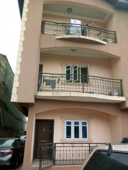 Spacious & Lovely 3 Bedroom All Rooms Ensuite Flat (upstairs), Off Finbarrs Road, Akoka, Yaba, Lagos, Flat for Rent