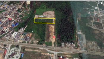 Prime 20,000 Fenced Land, Lekki Expressway, Lekki, Lagos, Residential Land for Sale
