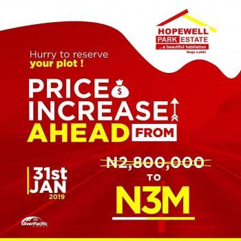 Land, 5mins Drive From La Campagn Tropicana, Eleko, Ibeju Lekki, Lagos, Mixed-use Land for Sale