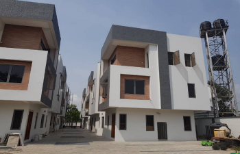 Newly Built Serviced 5 Bedroom Terrace Duplex with Swimming Pool & Gym House, Off Admiralty Way Lekki Phase 1, Lekki Phase 1, Lekki, Lagos, Terraced Duplex for Sale
