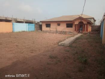 Lovely Spacious 4 Bedroom Flat Setback on a Full Plot of Fenced Gate Water, Baruwa, Ipaja, Lagos, Detached Bungalow for Sale