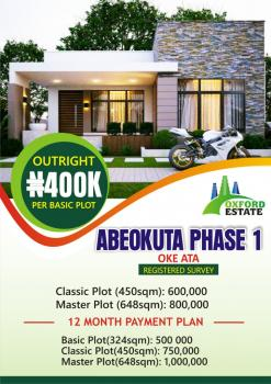 Plots of Land, Oke Ata, Abeokuta North, Ogun, Residential Land for Sale