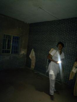 a Fairly Used and Spacious Mini Flat with 2 Toilets, Off Luth Road, Idi Araba, Surulere, Lagos, Mini Flat for Rent