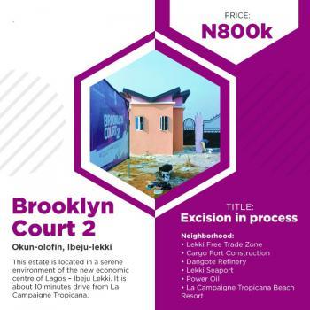 Land, Brooklyn Courts Estate Phase 1, Okun Imedu, Ibeju Lekki, Lagos, Mixed-use Land for Sale