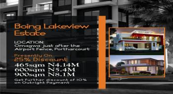 Economical [465sqm], Before International Airport, Omagwa, Port Harcourt, Rivers, Residential Land for Sale