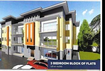3 Bedroom Block of Flats (en Suite), Plot 529, Kukwuaba, Abuja, Flat for Sale