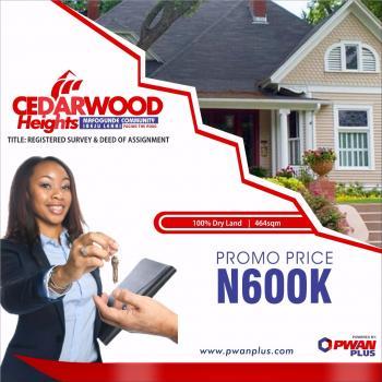 100% Dry Land in Ibeju Lekki for Sale., Mafogunde, Ibeju Lekki, Lagos, Mixed-use Land for Sale