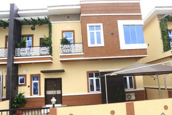 Brand New 4 Bedroom Semi-detached Duplex + Bq Powerfully Finished with Electronic Gadgets & Fitted Kitchen (governors Consent), Chevron, Lekki Expressway, Lekki, Lagos, Semi-detached Duplex for Sale