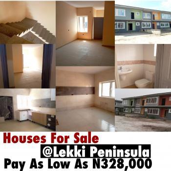 Luxury Houses for Sale As Low As N328,000 in Oribanwa After Mayfair Garden, Lekki-epe Express Way, Lekki Expressway, Lekki, Lagos, Terraced Duplex for Sale