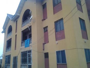 Six Flats of 3 Bedrooms on One and Half Plots, Fenced in a Close, Behind Ile Epo Market, Ekoron, Abule Egba, Agege, Lagos, Block of Flats for Sale