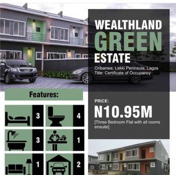 Luxury 3 Bedroom Flat, Awoyaya, Ibeju Lekki, Lagos, Flat for Sale