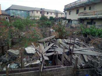 Vacant  Land with Foundation, Akanmu Lane Off Agaran Street, Ojuwoye, Mushin, Lagos, Commercial Property for Sale