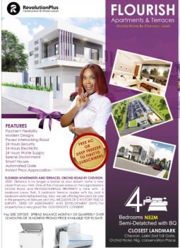 Luxury Semi-detached Duplex with Modern Design, Flourish Apartments & Terraces, Orchid Road, Chevron By 2nd Toll Gate., Igbo Efon, Lekki, Lagos, Semi-detached Duplex for Sale