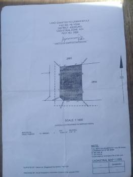a 2,356 Sqm of Land for Sale at Asokoro Abuja, Besides Rotimi Amechis House, Asokoro District, Abuja, Residential Land for Sale