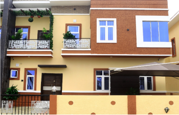 Newly Built 4 Bedroom Semi Detached Duplex with Bq, Orchid Hotel Road, By Second Lekki Toll Gate, Lafiaji, Lekki, Lagos, Semi-detached Bungalow for Sale