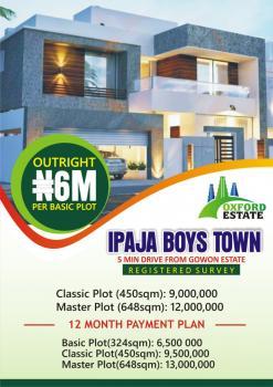 Oxford Estate, Boys Town, Ipaja, Lagos, Mixed-use Land for Sale