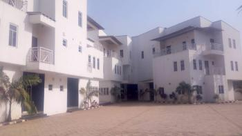 5 Bedroom Terraced Duplex with a Study and 1 Room Bq, Off Aduvie Road, Jahi, Abuja, Terraced Duplex for Rent