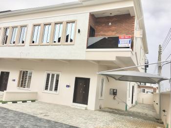24/7 Serviced Exquisite 4 Bedroom Semi  Detached Duplex, Chevron Toll Gate, Chevy View Estate, Lekki, Lagos, Semi-detached Duplex for Rent