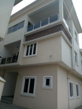 Luxury 6 Bedroom Terrace Duplex with a Room Bq, Off Patrick Chibueze Street, Osapa, Lekki, Lagos, Terraced Duplex for Rent