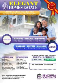 a Perfect Land Sales Offer @ Elegant Homes Estate, Elegant Homes Estate, Off Lekki - Epe Express Way, Ibeju Lekki, Lagos, Mixed-use Land for Sale