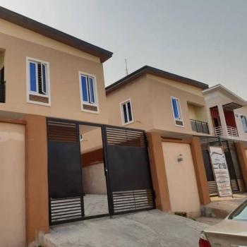 Newly Built 4 Bedroom Fully Detached Duplex with Bq, Off Ogundana, Allen, Ikeja, Lagos, Semi-detached Duplex for Sale
