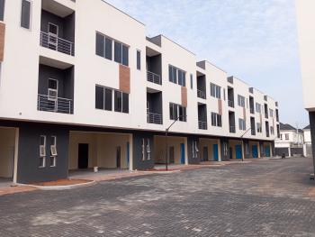 Newly Built Luxury Serviced 3 Bedroom Terraced Duplex with a Room Servant Quarters, Swimming Pool, Etc., Osapa, Lekki, Lagos, Terraced Duplex for Sale