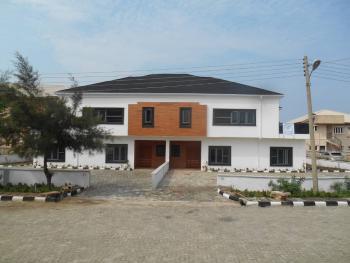 Large 5 Bedrooms Semi-detached Duplexes, Orchid Road, Chevron Alternatives, Lafiaji, Lekki, Lagos, Semi-detached Duplex for Sale