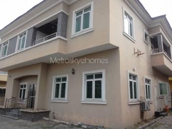 This Is an Amazing 5 Bedroom Fully Detached Apartment in a Highly Serene Neighborhood, Chevy View Estate, Lekki, Lagos, Detached Duplex for Rent