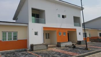 Brand New and Well Located 4 Bedroom Semi Detached (shell), Chevron Estate Phase 3, By Chevron, Lekki, Lagos, Semi-detached Duplex for Sale