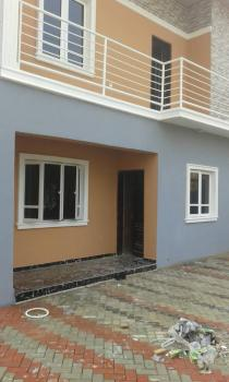 a Standard Well Newly Built 3 Bedrooms Detached Duplex, Interlocked Compound, Well Spacious Fitted Kitchen and Store; Dinning Space in a Nice Street, Valley Estate, Cement, Mangoro, Ikeja, Lagos, Detached Duplex for Rent