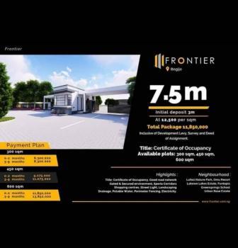 Plots of Land, Frontier Estate, Beside Beachwood Estate, Lekki - Epe Express Way, Bogije, Ibeju Lekki, Lagos, Residential Land for Sale