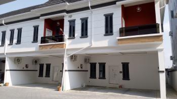 4 Bedroom Duplex with 24-hr Electricity Supply, Chevron Axis, Lekki Phase 2, Lekki, Lagos, Terraced Duplex for Sale