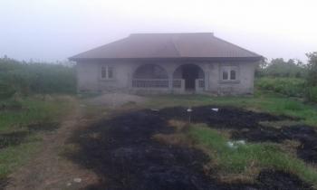 Vacant Brand New 4 Bedroom Bungalow on a Full Plot, White Sand Area, Isheri Oshun, Ijegun, Ikotun, Lagos, Detached Bungalow for Sale