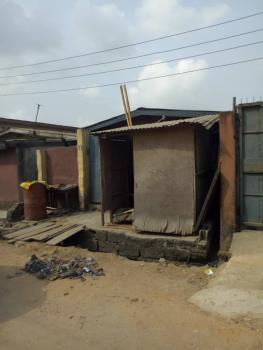Half Plot with Bungalow, Osemene Close. Beesam, Mafoluku, Oshodi, Lagos, Residential Land for Sale