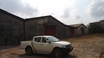 5 Bay Warehouse on 10960 Sqm of Land, Off Old Ojo Road, Ajagbandi, Ojo, Lagos, Warehouse for Sale