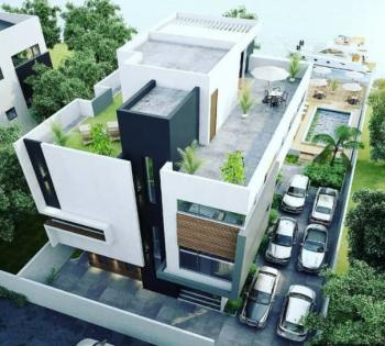 an Off Plan 5 Bedroom Duplex and 2 Rooms Bq Sitting on 730sqm Water Front Land, Banana Island Residential Area, Banana Island, Ikoyi, Lagos, Detached Duplex for Sale