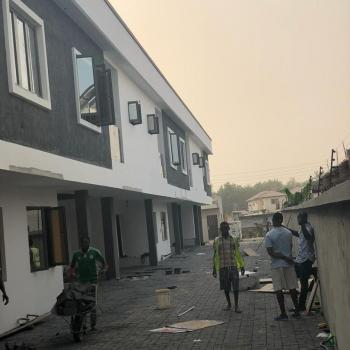 3 Bedroom Terrace + a Room Bq with a Fully Fitted Kitchen, Southern View Estate, Lekki Expressway, Lekki, Lagos, Terraced Duplex for Sale