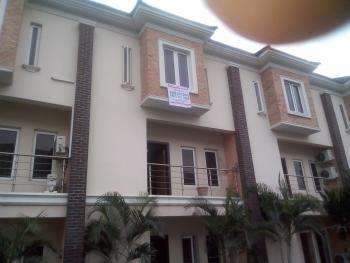 Luxury 4 Bedroom Terrace House with Excellent Facilities, Saki Close, Osapa, Lekki, Lagos, Terraced Duplex for Sale