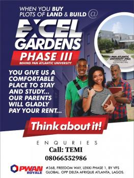 Excel Gardens Phase 3 (behind Pan Atlantic University), Agan Ofiran Village, Ibeju Lekki, Lagos, Mixed-use Land for Sale