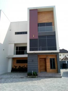 Serviced 4 Bedroom with Bq, Washing Machine & Fridge, Agungi, Lekki, Lagos, Terraced Duplex for Sale