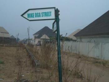 Fenced Residential Land, Hajj Camp Model Residential District, Gwagwalada, Abuja, Residential Land for Sale