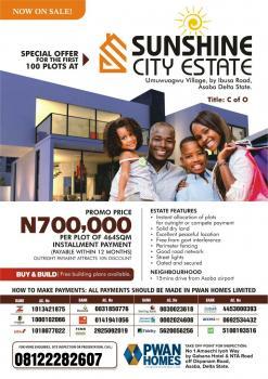 Land for Sale, Sunshine City Estate, Oshimili North, Delta, Commercial Land for Sale