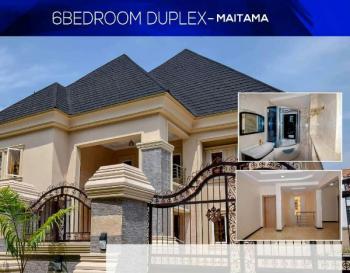 Prestigious 6 Bedroom Fully Detached Duplex, Maitama District, Abuja, Detached Duplex for Sale