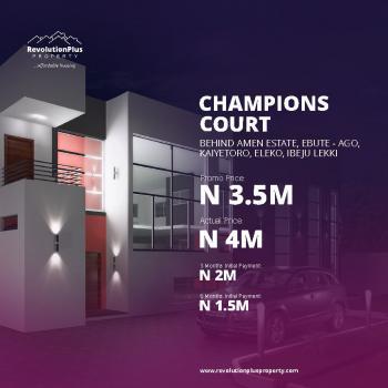 Champions Court, Kayetoro, Eleko Junction, Behind Amen Estate Phase 1, Eleko, Ibeju Lekki, Lagos, Residential Land for Sale